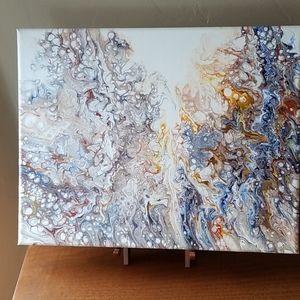 """Original art """"Mixed Emotions""""  11 x 14"""